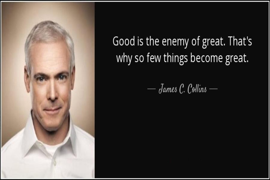 خوب دشمن عالی است