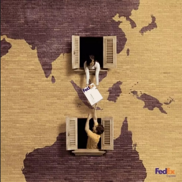 همسایهها: FedEX