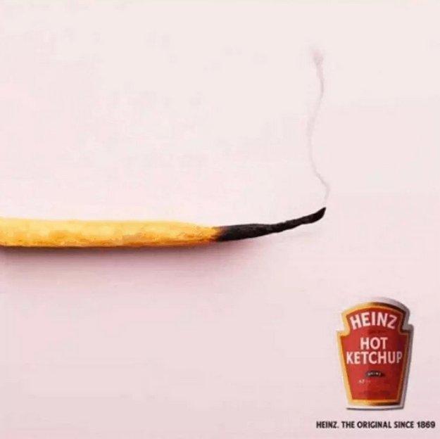 یک کچاپ آتشین: Heinz